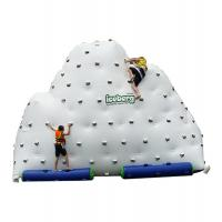 Inflatable Mountain Water Toy , Inflatable Rock Climbing Wall Three Sides
