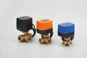 China HVAC System Electric Actuated Ball Valve , Temperature Control 1 Motorized Water Valve on sale