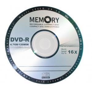 China OEM 4.7GB 8 x x/16 DVD +/- capacité élevée et transfert des données de R évaluent le disque de blanc de Dvd R on sale