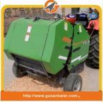Manufacturer agriculture farm machine tractor mounted mini round straw baler for Vietnam market