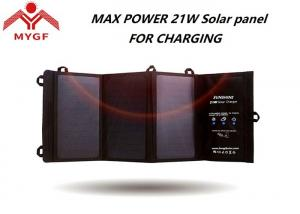 China Solar Rechargeable Phone Charger , Solar Battery Charger High Efficiency on sale