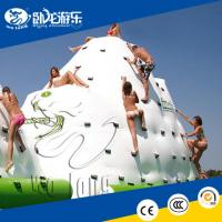 China Kids and adults inflatable iceberg water climbing toys for sale with low price for sale on sale