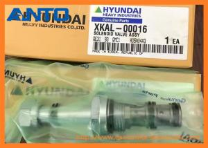 China XKAL-00016 Solenoid Valve Applied To Hyundai R210-9 R140-9 R140W-9 R210W-9 Excavator Parts on sale