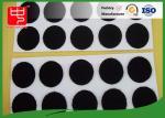 Corrections faites sur commande de crochet et de boucle de diamètre résistant de 25mm avec les points ronds adhésifs de Velcro