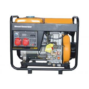 Quality 3 Phase 5000W Portable Small Portable Generators Open Type Hand Start for sale
