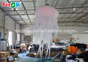 China Durable Inflatable Hanging Jellyfish For Home / Bar / Concert Light Weight on sale