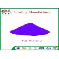 Cotton Fabric Permanent Fabric Dye C I Vat Violet 9 Vat Dyes Heat Resistant