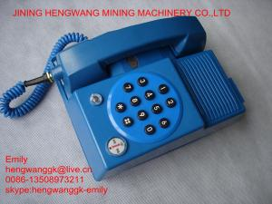China mining rotary dial old style telephone on sale