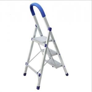 China Wide Portable Step Ladder Industrial Ladders Custom Size Easy To Use Stable on sale