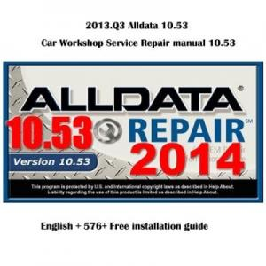 China Brand new Alldata 10.53 automotive repair manual Alldata repair manual on sale