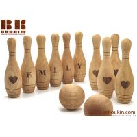 Wooden Toy 10 Pin Bowling Game Set Bowling Game Wooden toys Gift for Baby Christmas