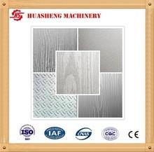 China Pattern Hot Press Stainless Steel Press Plates MWD919 For Laminated Flooring on sale