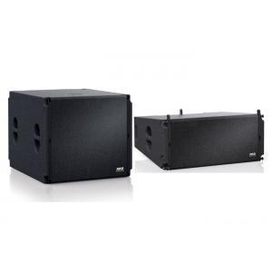 China Ligne de 2 manières systèmes de son de rangée avec les haut-parleurs en bois de coffret/rangée de haut-parleur on sale