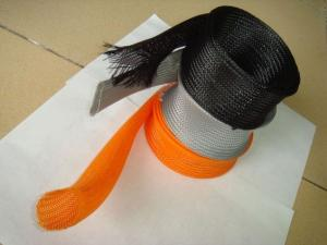 China Mesh woven polypropylene tubes on sale