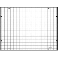 3nh TE183 A REFLECTANCE 14 horizontal and 19 vertical lines 19 / 14 – TV cameras GRID TEST CHART