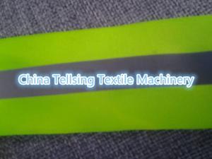 China proveedor de calidad superior Tellsing de China de la máquina de la tira reflexiva de 50m m para la planta de la tela de materia textil on sale