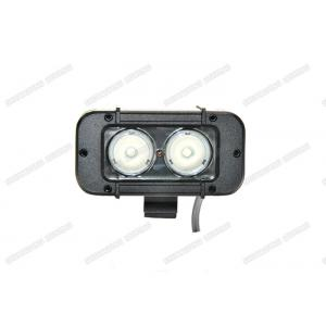 China 20W 12v 24v High Lumen LED Light Bar , Single Row Waterproof LED Light Bar on sale