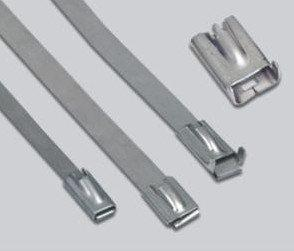 China Stainless Steel Banding Zip Ties for wire on sale
