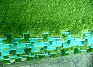 China Natural Landscaping Artificial Grass With EVA Back Mat on sale