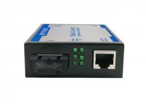 China Industrial Fiber Optic Media Converter , Fiber To Ethernet Media Converter With PoE on sale