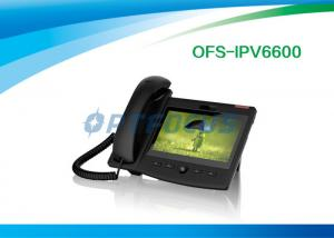 "China Android 6 SIP Video POE IP Phone WIFI 7"" TFT 800 x 480 Capacitive Multi Touch Screen on sale"