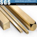 Hoja de la barra de cobre amarillo del material de construcción