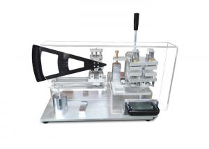 China Knife Cookware Bending Strength Testing Machine With Acrylic Protective Cover on sale