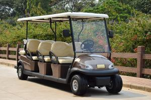 China 6 Seater Electrical Golf Buggy Car With Lead Acid Battery Or Lithium Battery 48V on sale