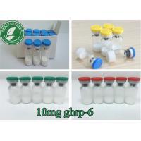 10mg/Vial Fat Loss Freeze Dried White Powder Peptide Powder Ghrp-6