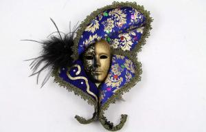 China Interior Decorating Masquerade Masks Lace With Porcelain 13 Inch for Gift on sale