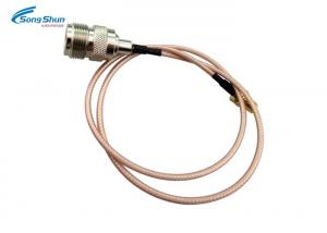 China N - Type Female RF Cable Assemblies RG316 Jumper SC Conductor Wireless Communication on sale