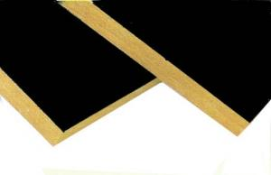 China Soundproofing Rockwool Insulation Board Faced With Black Glass Tissue on sale