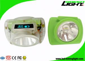 China Underground Rechargeable Coal Cordless Led Mining Cap Lamp 13000lux IP68 Waterproof on sale