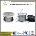 prises flexibles 6x7+IWS de cale de corde de fil mince