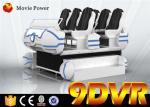 Full Immersive Interactive HD Movie Flight Simulator 9D Simulators VR Family 6 Seats Electric Platform 9D VR Simulators