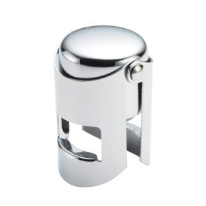 China Top Quality Vacuum Pumping Preservation Champagne Beer Storage Stainless Steel Custom Wine Stopper on sale