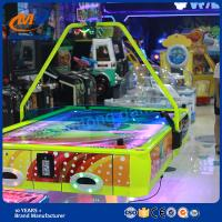 Indoor Amusement Machine Game Coin Operated Air Hockey Table For 4 Players