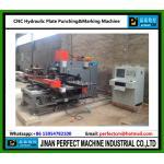 Машина плиты CNC Hydrualic пробивая & маркируя