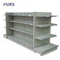 China Multi Color Metal Vegetable Display Rack , Commercial Retail Display Shelving on sale
