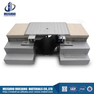 China Aluminum expansion joint with safe serrated surface on sale