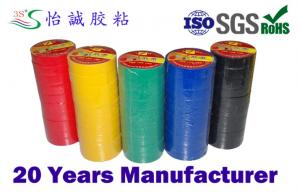 China colored strong adhesive PVC Electrical Insulation Tape with polyvinyl chloride on sale