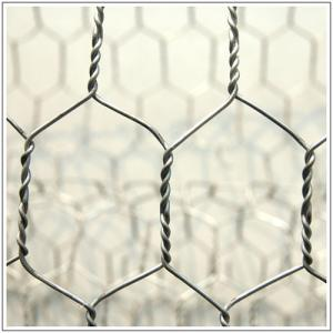 China 2x1x1m Hexagonal Wire Mesh Gabion Basket Correction Resistant For Garden Decoration on sale