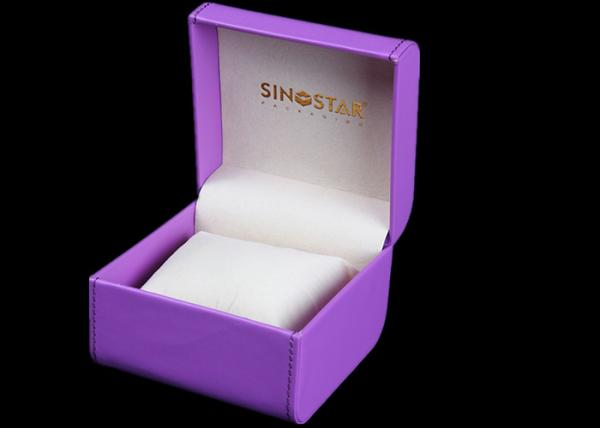 3ba37ef3543 Durable Women Watch Box Luxury Waterproof Velvet Inside For Presentation  Gift Images