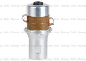 China 9 - 10nf Ultrasonic Welding Transducer , Branson Ultrasonic Transducer Welding With PZT8 Yellow Ceramics on sale