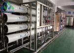 PLC Control Drinking Water Treatment Machine With Toray / Dow Brand RO Membrane