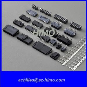 China Molex Pitch 3.0mm SMT Dip PTH PCB connector wire to board single or dual Row Female male on sale