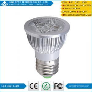 China MR16 4W LED Spot Light Bulb dimmable 12V DC With Warm White 3000K Led Spot light on sale