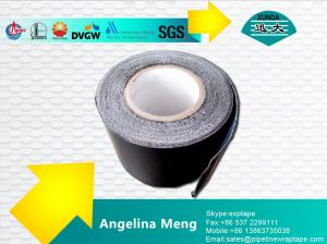 Quality White Self Adhesive Bitumen Tape / 1.5mm Thick Self Adhesive Magnetic Tape for sale