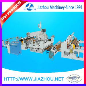 China High Quality Extruder Silicon Roller Adhesive Label Kraft Paper PE Hot Melt Coating Machine on sale