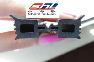 China Flexible EPDM Rubber Seal Extrusion , Extruded Gasket Profiles For Window on sale